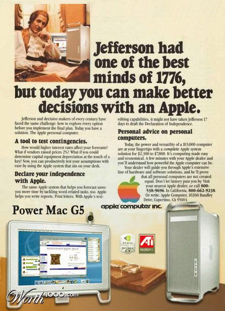 power mac g5 Vintage Advertisement of Modern Technology