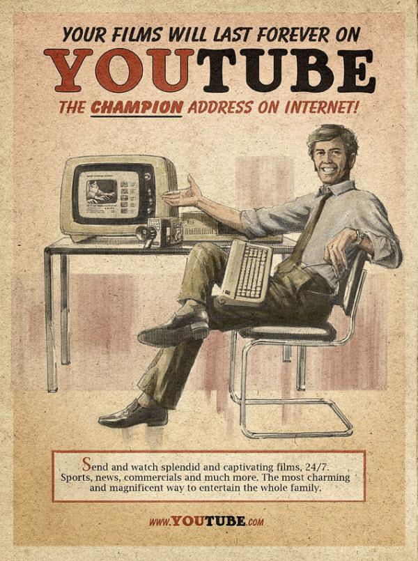 youtube Vintage Advertisement of Modern Technology