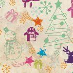 VECTOR con motivos navideños