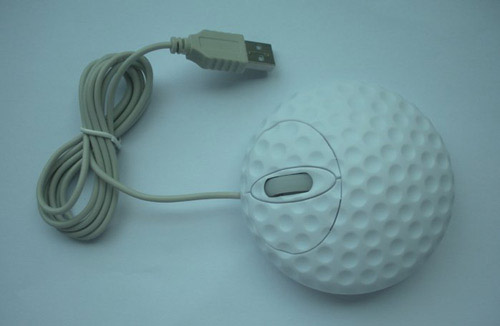 3d golf mouse Unusual Computer Mice You Probably Havent Seen Before