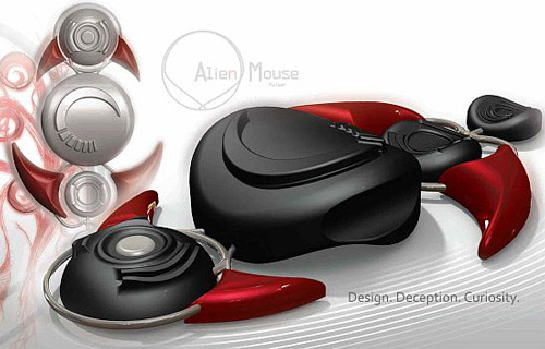 alien mouse Unusual Computer Mice You Probably Havent Seen Before