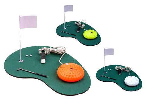 creative golf mouse Unusual Computer Mice You Probably Havent Seen Before