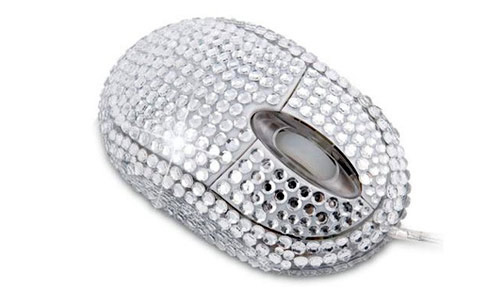 diamante mouse Unusual Computer Mice You Probably Havent Seen Before
