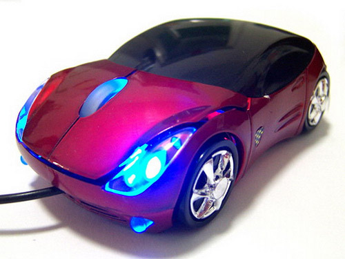 ferrari mouse Unusual Computer Mice You Probably Havent Seen Before