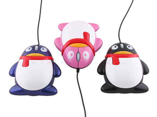 penguin mouse Unusual Computer Mice You Probably Havent Seen Before