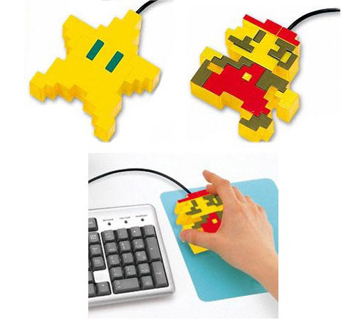 super mario mouse Unusual Computer Mice You Probably Havent Seen Before
