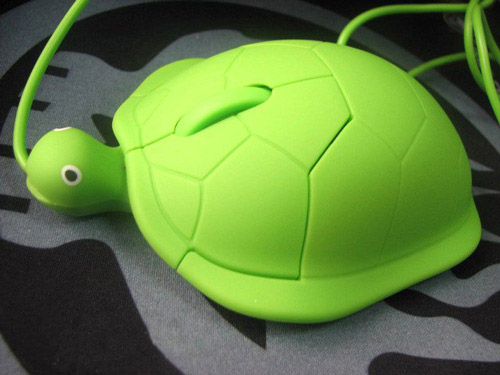 tortoise shaped mouse Unusual Computer Mice You Probably Havent Seen Before