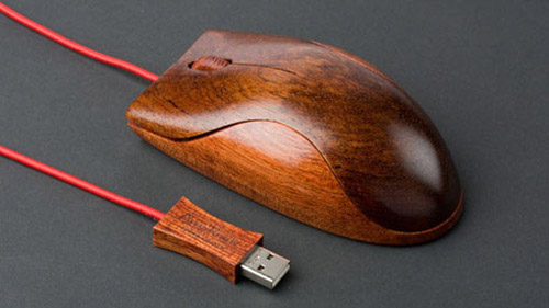 wooden mouse Unusual Computer Mice You Probably Havent Seen Before