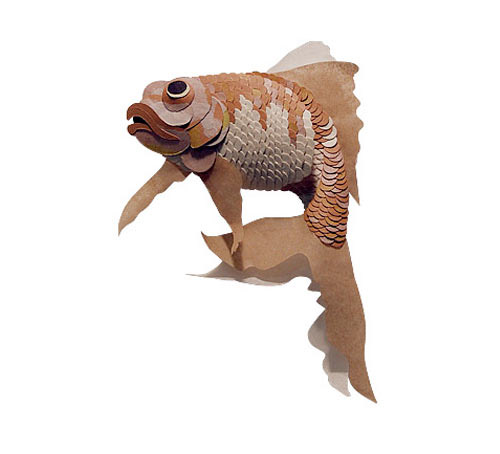 goldfish Masters of Paper Art and Paper Sculptures, Part II