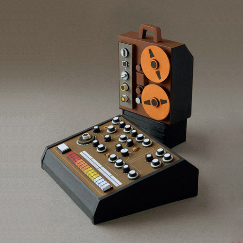 synthesizer Masters of Paper Art and Paper Sculptures, Part II