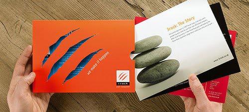 3rock Corporate Brochure Print Inspiration