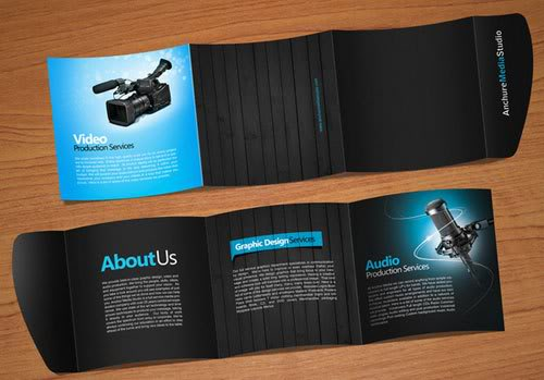 Anchure brochure Print Inspiration