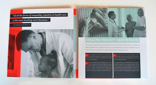 CHP Brochure Print Inspiration