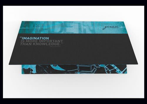Creative Brochure Genesi Print Inspiration
