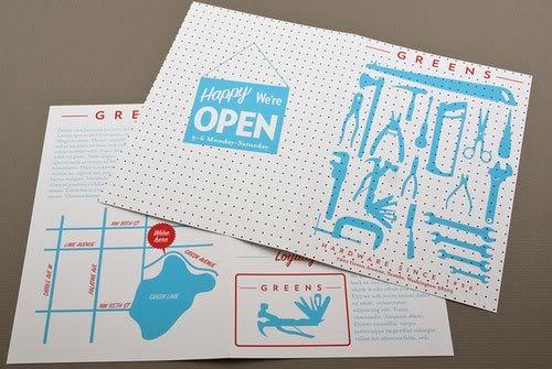 Hardware Store Brochure Print Inspiration