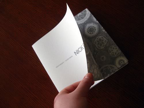 Nick Cave Brochure Print Inspiration