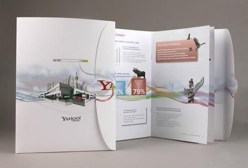 Yahoo Search Marketing Brochure Print Inspiration