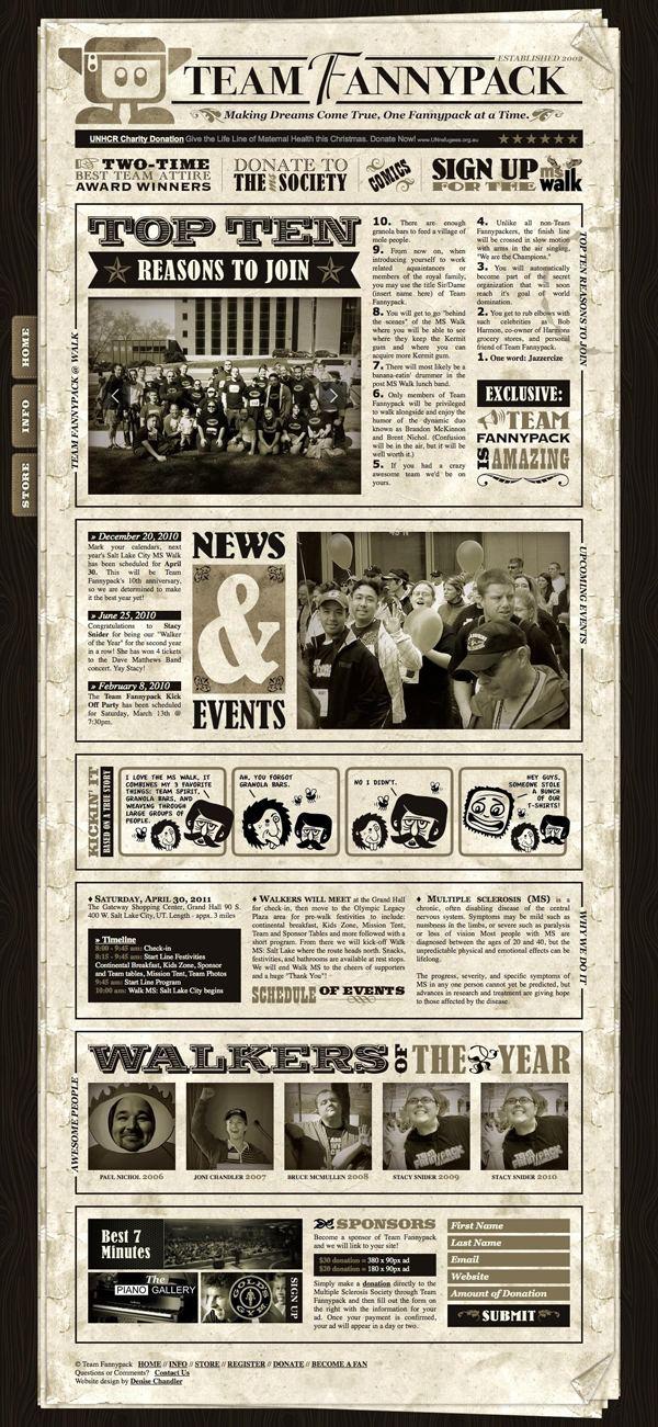 44 WEB s de estilo Retro y Vintage - ✚ComoYoDsg d52871d6a5a73