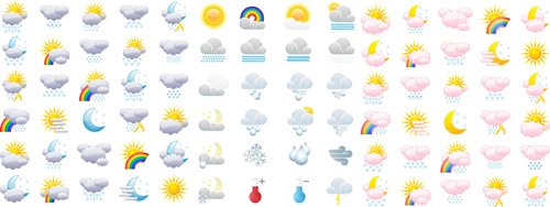 clear, cloud, cloudy, cold, cold weather, collection, crescent, drip, drizzle, drop, electric storm, emblem, fall, gray, grey, hail, hailstone, icon, illustration, lightning, lightning storm, meteorological, meteorology, moon, nature, overcast, rain, rainbow, rainy, set, shower, sign, sleet, snow, snowfall, snowflake, star, storm, sun, sunny, symbol, thunderbolt, thunderstorm, vector, warmth, weather, free stock vector download