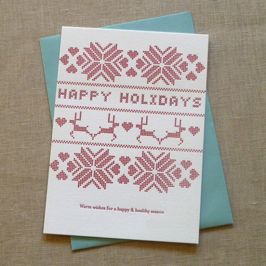 Armato Design Holiday Card 550x550 2011 Holiday Card Round Up, Part 11