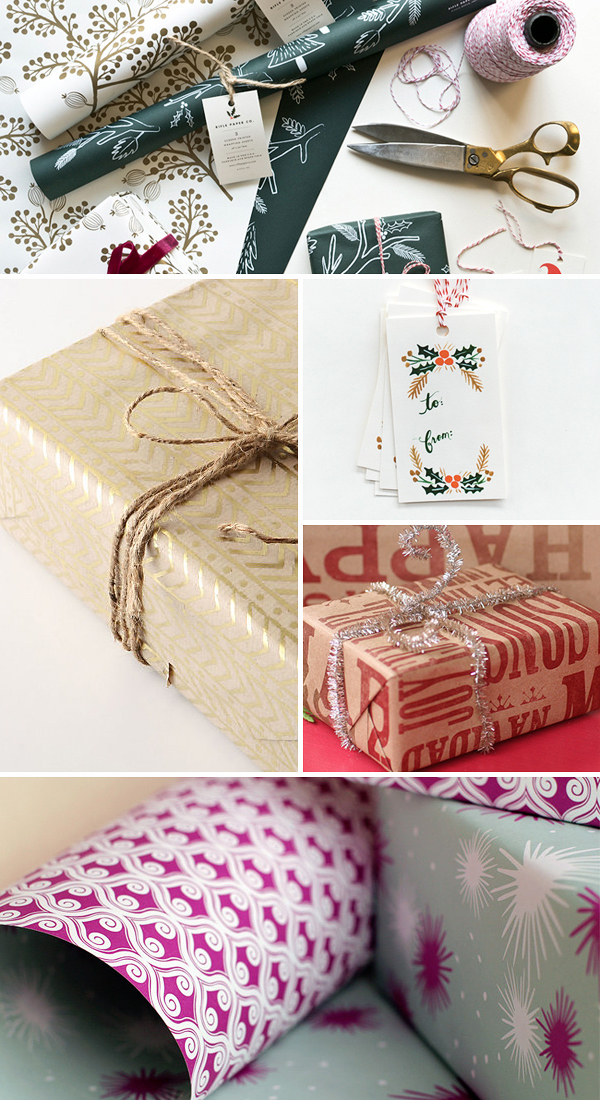 Holiday Gift Wrap Ideas Holiday Gift Wrap Inspiration, Part 1