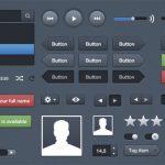 30 PSD gratis: Interfaz de Usuario (IU)
