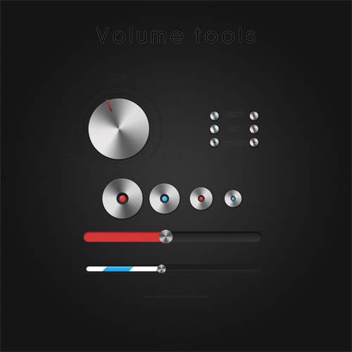 Volume tools + PSD