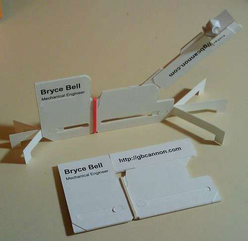 Catapult Strange Business Card