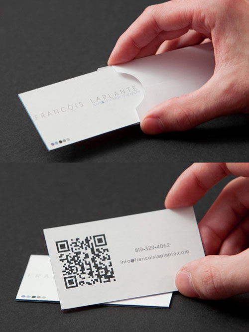 Francois Laplante Strange Business Card