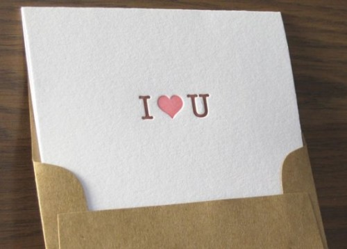 Paisley Dog Press I heart U Valentines Day Card 500x358 Valentines Day Cards, Part 1