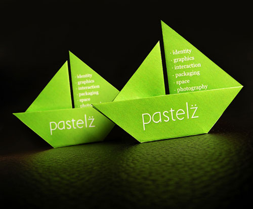 Pastelz Strange Business Card