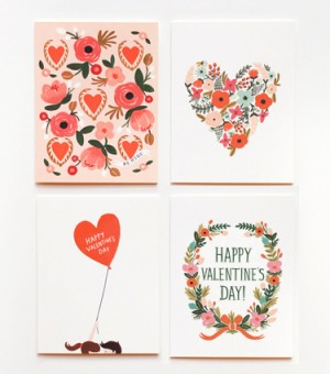 Rifle Paper Co Valentines Day2 300x340 A Few Valentines Day Cards, Part 1