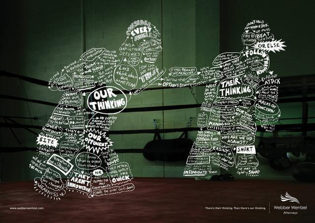 Publicidad Impresa - Webber Wentzel Abogados: Boxer