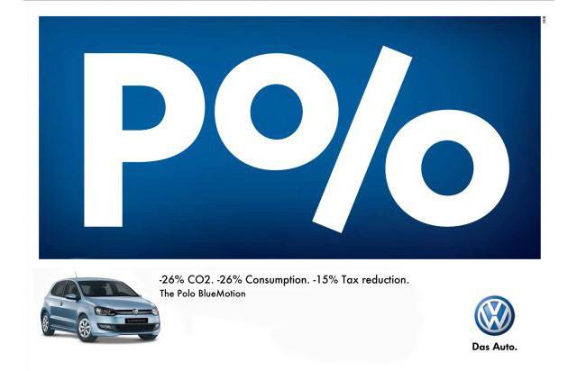 Publicidad Impresa - Volkswagen Polo: Porcentaje