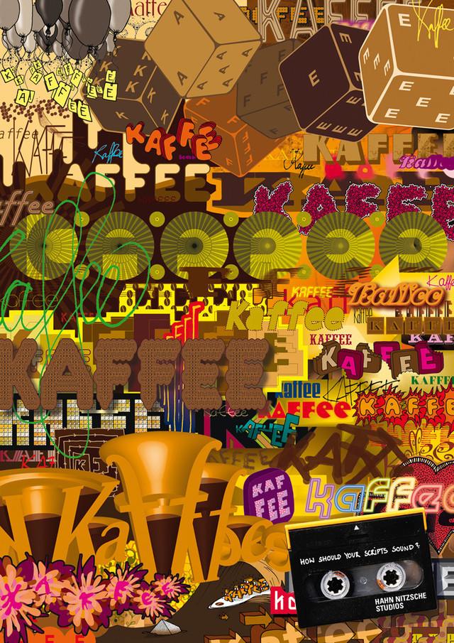 Publicidad Impresa - Hahn Nitzsche estudios de grabación: Kaffee