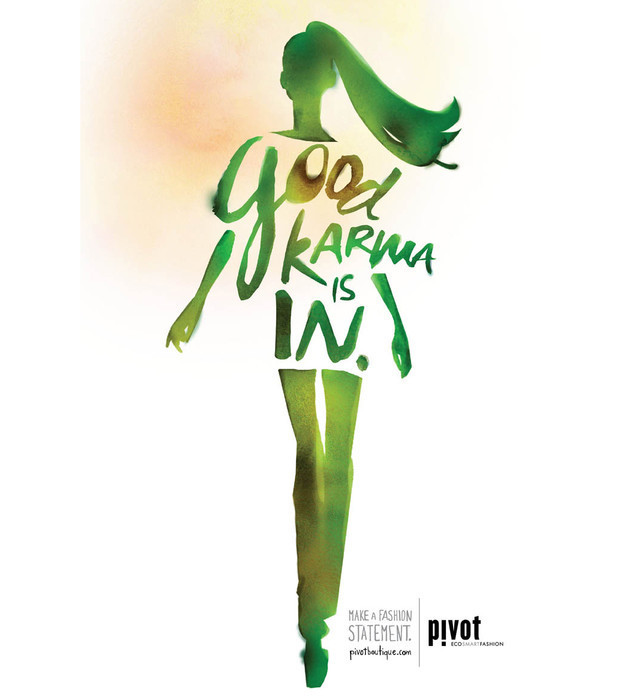 Publicidad Impresa - Boutique Pivot: Karma