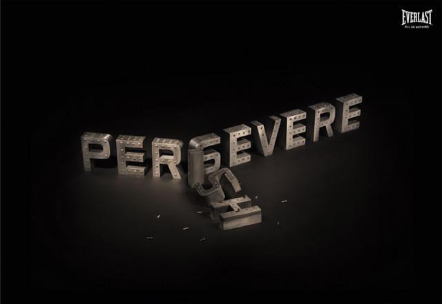 Publicidad Impresa - Everlast: Persevera
