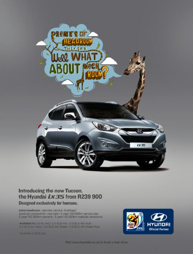 Publicidad Impresa - Hyundai - Diseñado para los humanos