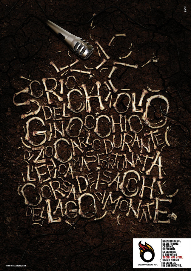 Publicidad Impresa - GreenMovie sonido Departamento: Mira el sonido, 2
