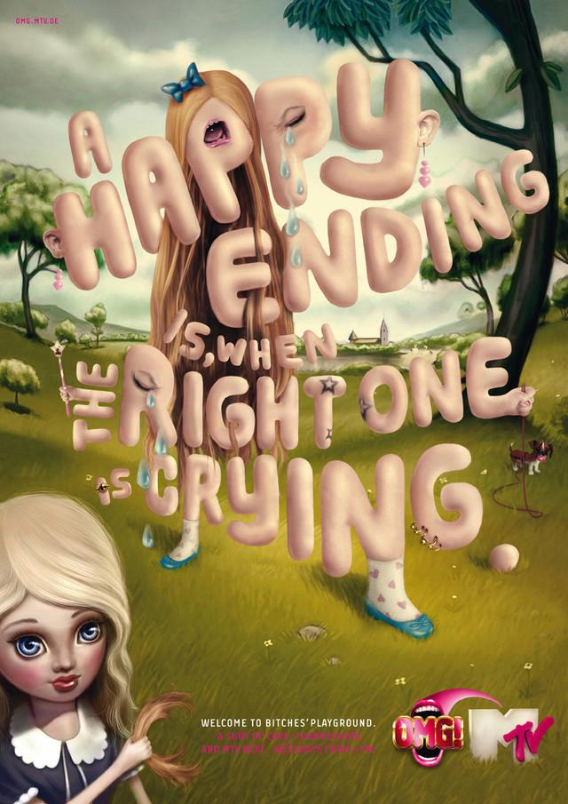 Publicidad Impresa - MTV: Happy End