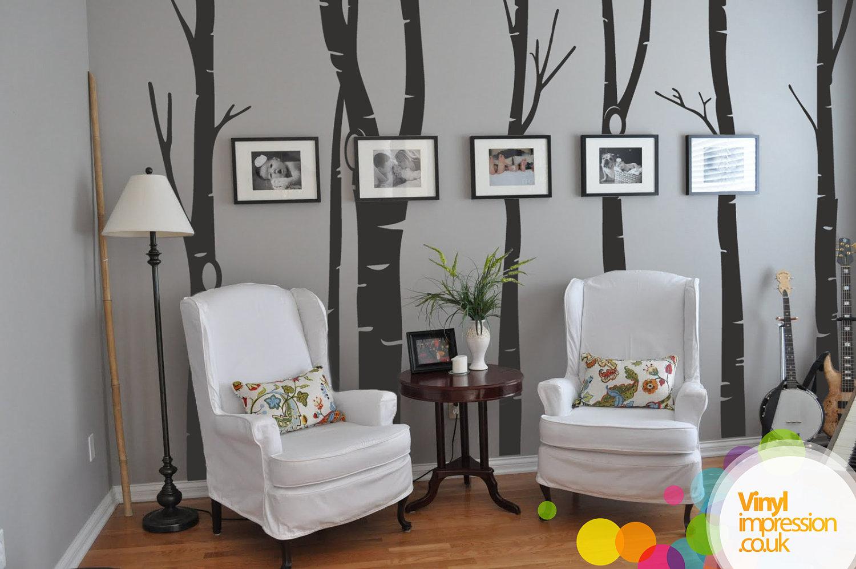 20 vinilos adhesivos creativas paredes comoyodsg - Decoracion paredes vinilos adhesivos ...