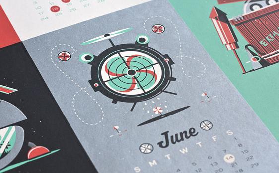 20 calendarios originales para 2013