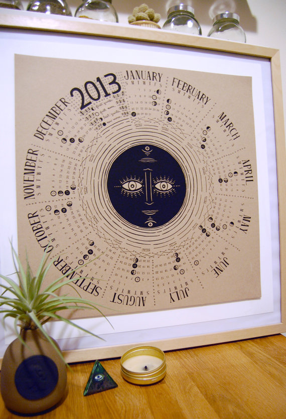 2013 Circular Lunar Calendar