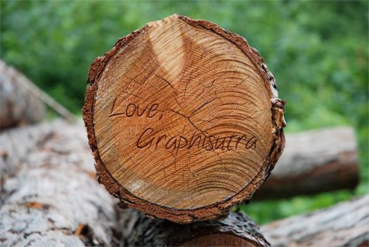 Tutoriales tipografía madera