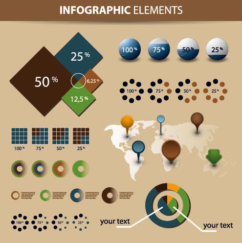 Infografía Economía y Elementos de Diseño Gráfico