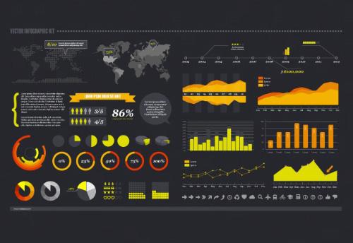 Gráficos, cartas de navegación y kit gráfico Iconos