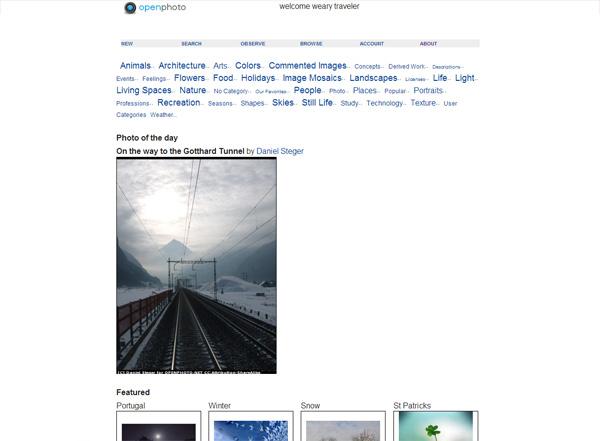 El Proyecto Abrir foto