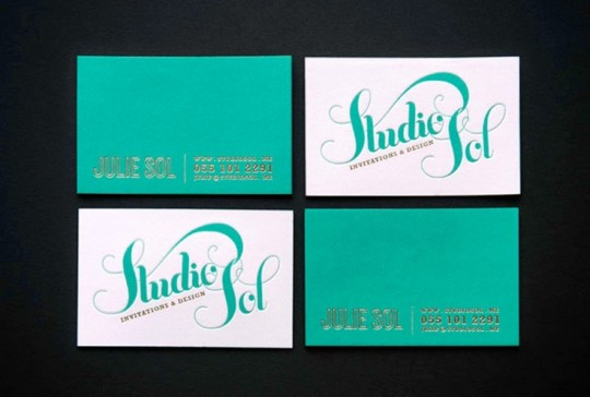 Studio Sol Business Card