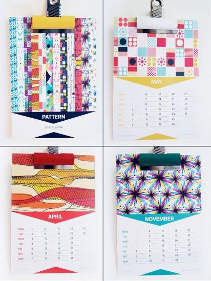 2013 Calendar Range