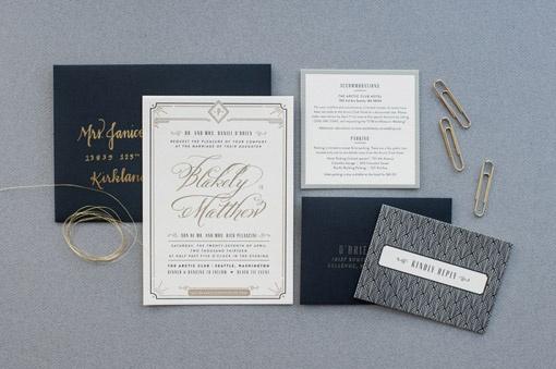 Carina Skrobecki and Lizzy Showman: Blakely & Matthew Wedding Materials